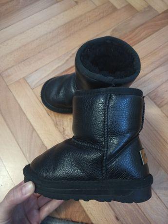 Угги 24р.кожа зима сапоги 24,ботинки 24