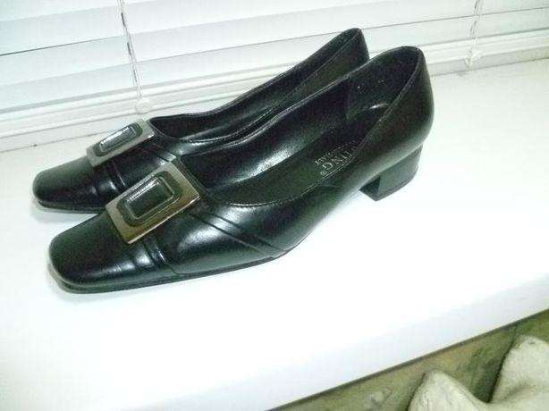 Кожаные туфли Мengting style Itali на низком ходу
