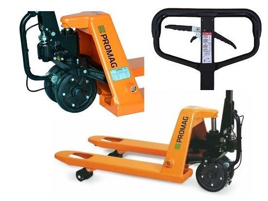 Wózek ręczny PALETOWY PALECIAK Krótki 80cm 800mm 2.5t 2500kg