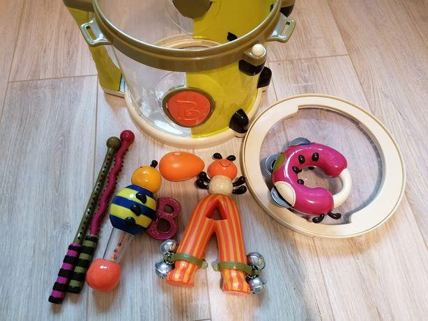 Zestaw instrumentów, Bębenek z instrumentami B Toys