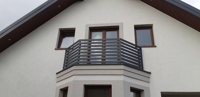 Balustrady balkonowe wzór grecki