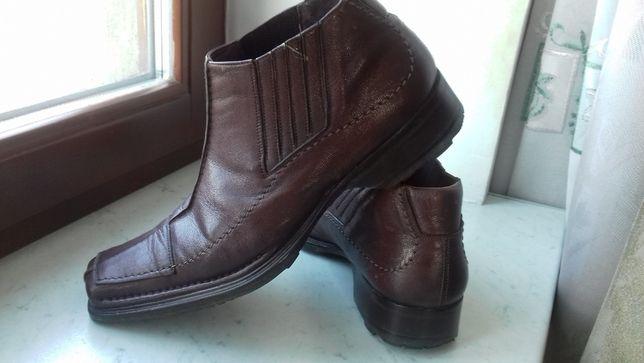 Продам ботинки зим. муж. G.Lucentini 42 р.