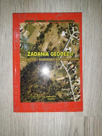 Zadania geodezji w katastrze i gospodarce nieruchomościami