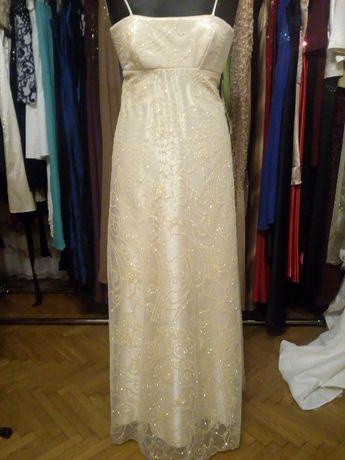 Sukienki wieczorowe Wyprzedaż rozm 34-36