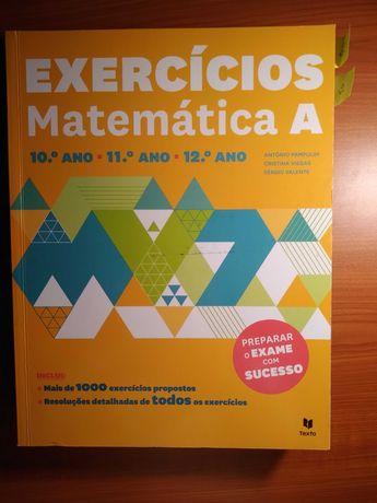 Preparação exame matemática A