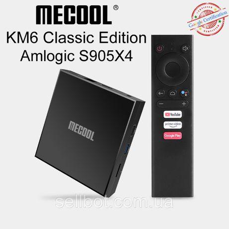 ⫸TV-Приставка MECOOL KM6 Classic 2/16ГБ AndroidTV 10.0 АндроидX96Ugoos