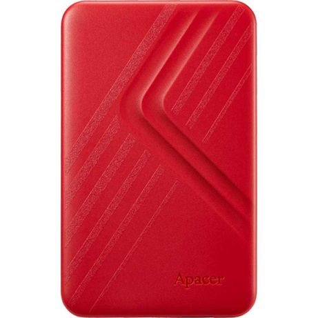 """Жорсткий диск зовнішній Apacer USB 3.2 Gen1 AC236 2TB 2,5"""" Червоний"""