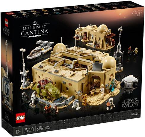 Lego Star Wars Кантина Мос-Эйсли 75290