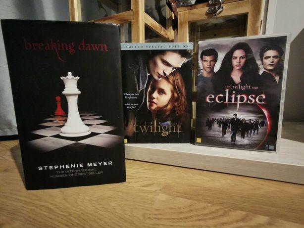 Książka Breaking Dawn Stephenie Meyer wersja angielska