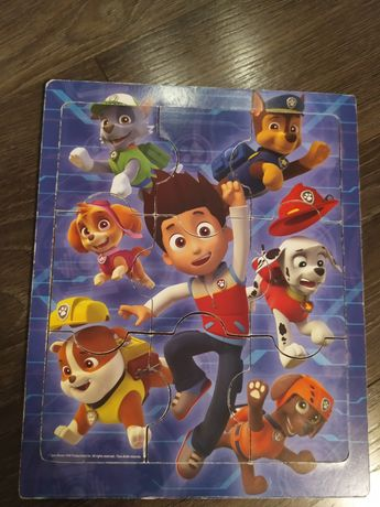 Puzzle drewniane Psi Patrol