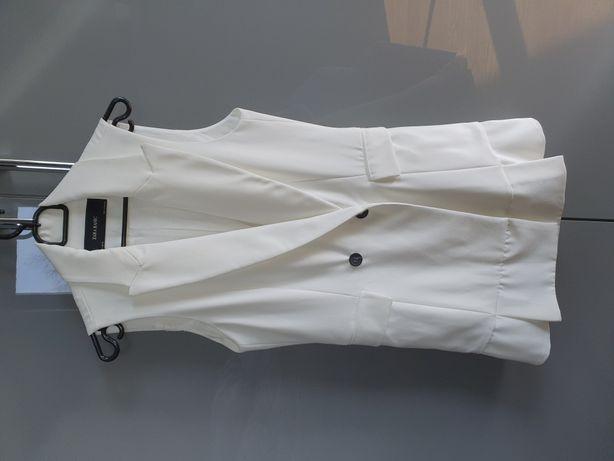 Zara sukienka kolor biały