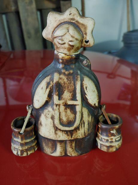 Porcelanowy przedwojenny Antyk flakon polecam