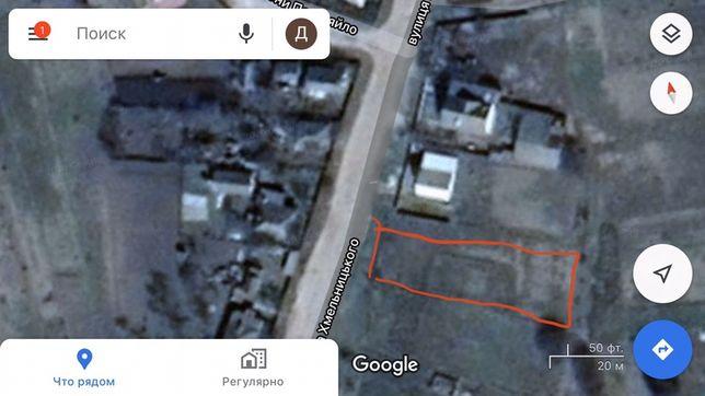 Продам земельну ділянку 0,10 га під будівництво в місті Ічня