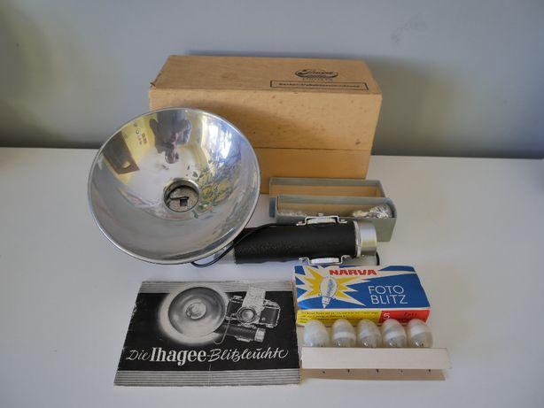 Lampa błyskowa Ihagee Dresden A 16 A Exakta Vakublitzeinrichtung
