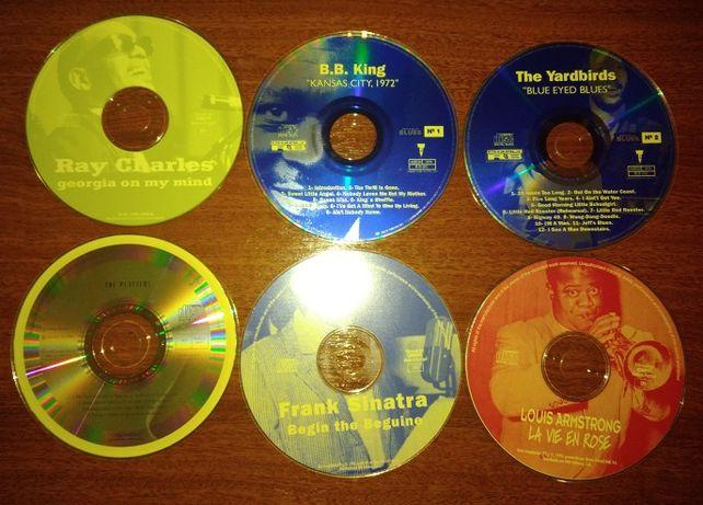 Sinatra - Ray Charles - BB King - Armstrong