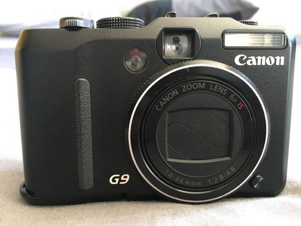 Canon PowerShot G9 12,1 MP - Com zoom óptico de 6x e lente de 7.4-44,4