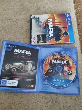 Mafia definitive edition PS4 PS5 RUS