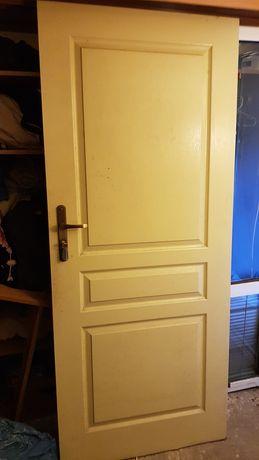 Drzwi Porta białe 80 prawe