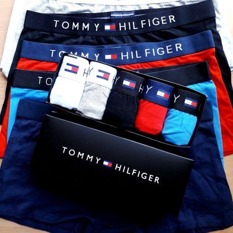 Подарунковий преміум набір TOMMY HILFIGER Мужские трусы\белье\боксеры