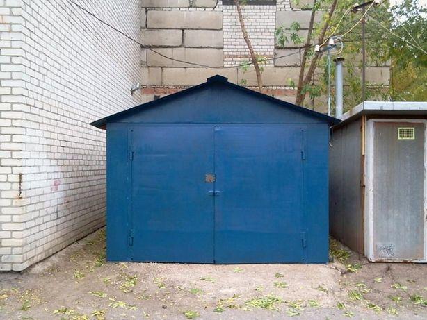 Металлический гараж 3.2х6.4м с ямой в кооп. Кристалл, Восточные кв.