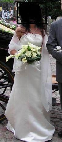 Suknia ślubna francuska 36