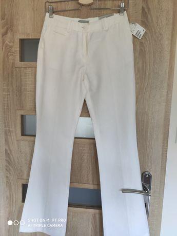 Nowe lniane spodnie HM