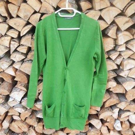 Zestaw komplet pakiet 3 swetry kardigan 14 zielony szary czarny Wallis