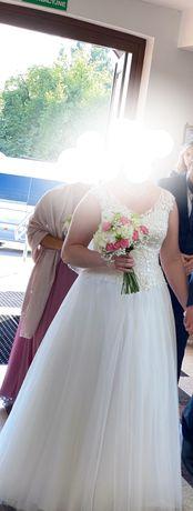 Suknia ślubna (roz.44-46)