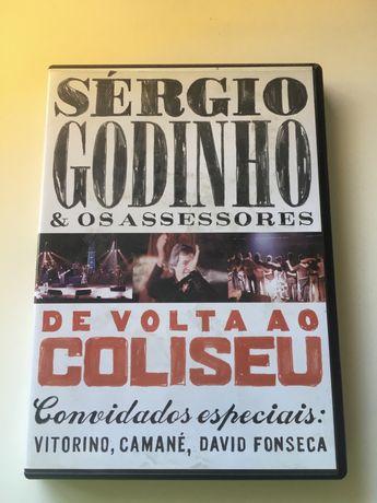 Sergio Godinho - Coliseu DVD