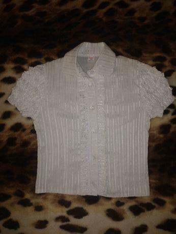 Блуза, блузка р. 134-140-150