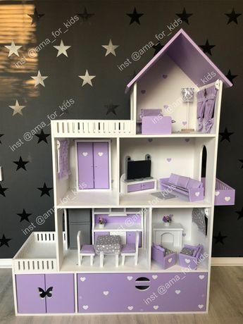 Домик для кукол, ляльковий будиночок , дом для кукол Барби