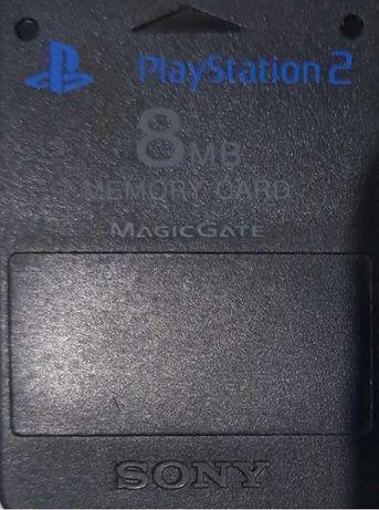 karty, karta pamięci SONY PS2 8MB