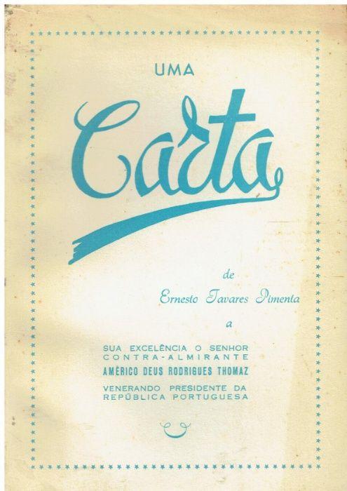 9373 Uma Carta de Ernesto Tavares Pimenta / Autografada Cidade Da Maia - imagem 1