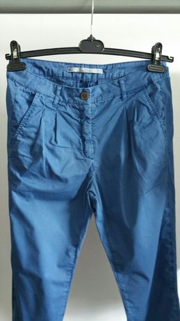 Zara Premium spodnie chinosy 36 S