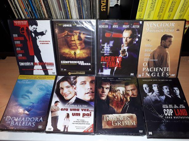 8 Filmes em DVD novos
