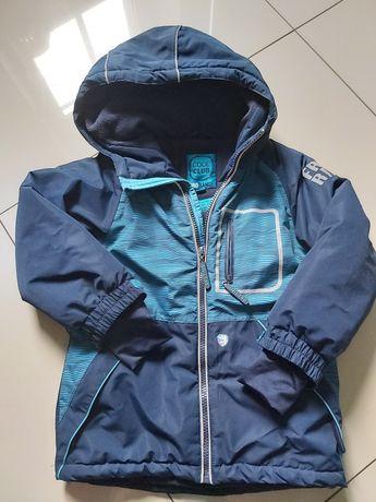 kurtka zimowa narciarska chłopiec 104 smyk cool club