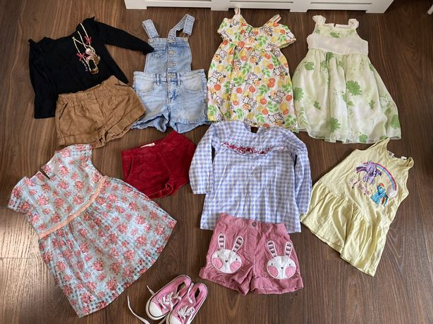 Пакет одежды на 2-3 года