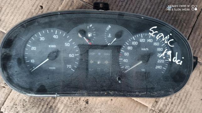 Licznik Renault Scenic 1.9 Dci