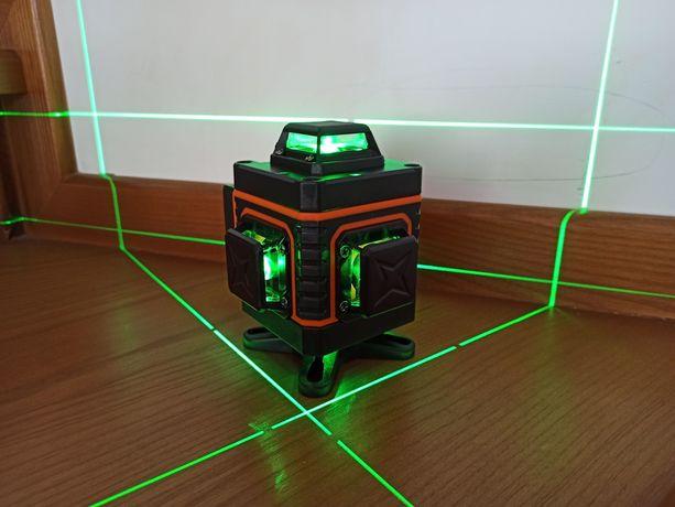 Лазерный уровень Vokpro 4D 16 линий лазерний рівень