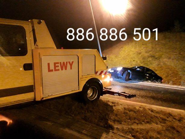 Pomoc Drogowa LEWY  24 h holowanie Busów   laweta  karty płatnicze