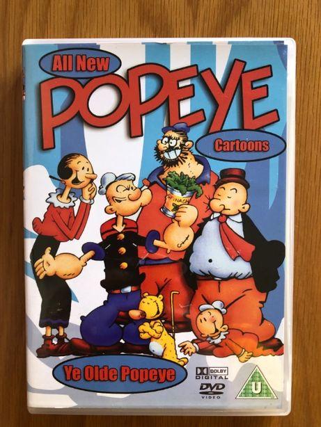 DVD Popeye - Versão Inglesa