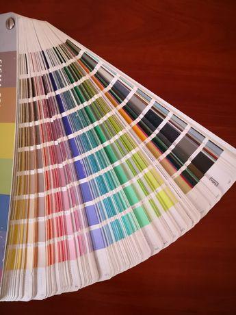 Wzornik kolorów. Paleta barw