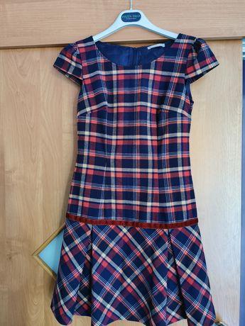 Sukienka Orsay 34 w kratkę