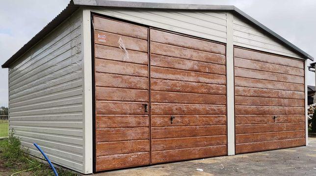 Garaż blaszany 6x5 z palety ral