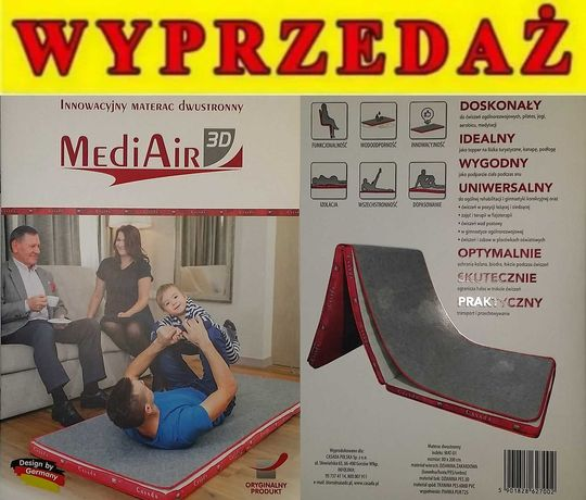 NOWY materac medyczny CASADA MEDICAL MediAir 3D  80x200 cm
