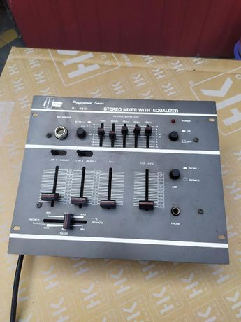 mixer stereo + equalizer klasyka