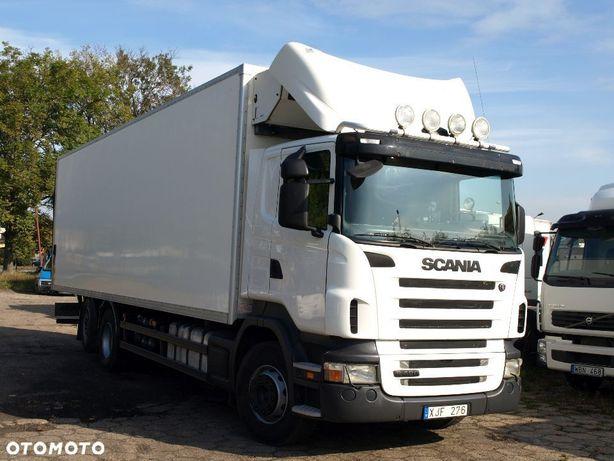 Scania R420  R 420 6x2 Chłodnia Izoterma Analogowe Tacho Manual