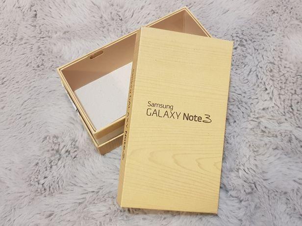 Sprzedam pudełko po Samsungu Galaxy Note 3. Stan idealny.
