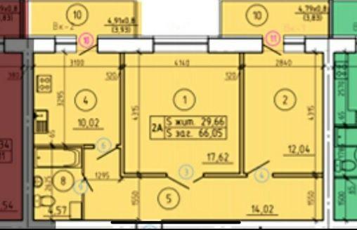 2 комнатная, НОВОСТРОЙ, продажа