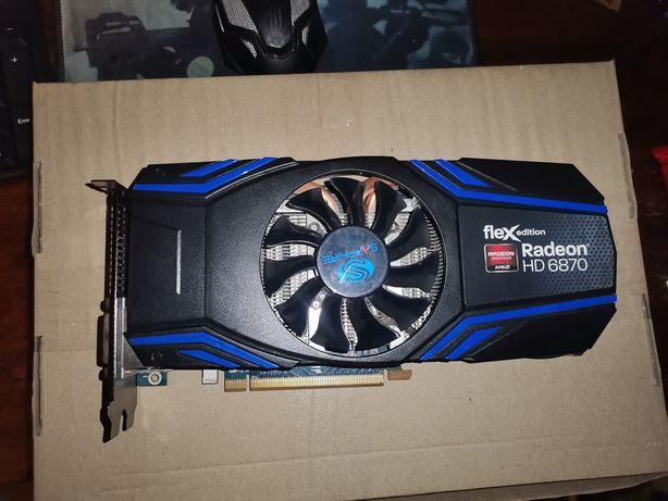 Ігрова відеокарта Radeon Flex HD 6870 Gddr5 1Gb